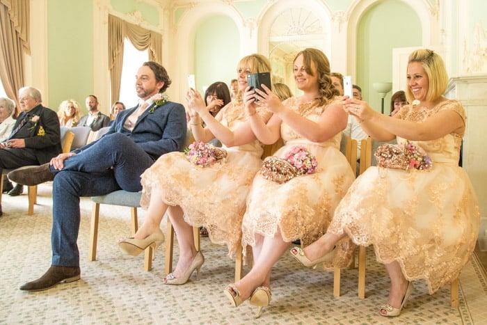 A summer wedding