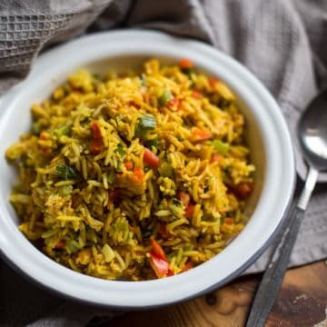 One Pot Campervan Egg Fried Rice