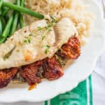 Sundried Tomato and Pesto Stuffed Chicken Breast