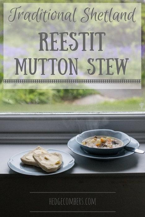 Traditional Shetland Reestit Mutton Stew
