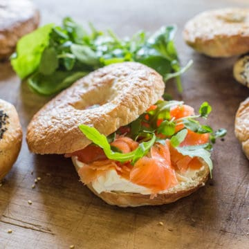 New York Bagel Recipe (UK Measurements)