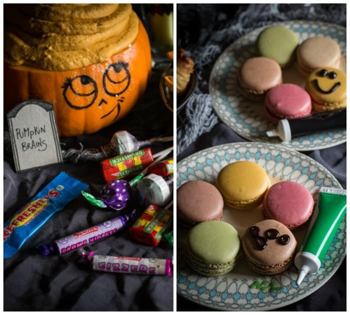 Halloween sweets and party food
