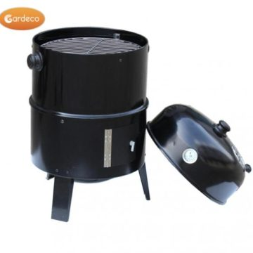 black food smoker BBQ