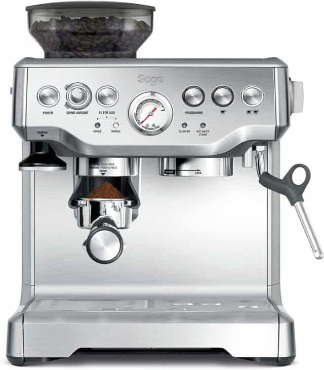 Sage Barista Express against a white background
